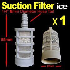 More details for pressure washer soap chemical detergent fuel tank hose inlet filter strainer 6mm