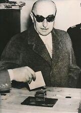 GRÈCE 1954 - Maréchal Papagos Élections Municipales Bulletin Vote - PR 561