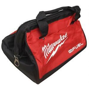 "New Milwaukee Fuel M12 13"" Heavy Duty Contractors Tool Bag 13"" x 9"" x 10"""