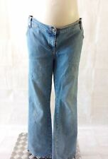 Under Bump Faded Bootcut Maternity Jeans   eBay