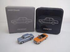 """BUB  80412186350  BMW 2002  &  BMW 2002 Cabriolet  """"BMW Classic 2002"""" 1:87  OVP"""