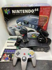 N64 - Nintendo 64 Konsole mit Original Controller in OVP + Spiel Super Mario