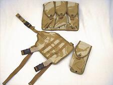 British military surplus UK Osprey PLCE desert DPM drop leg carrier/ mag pouches