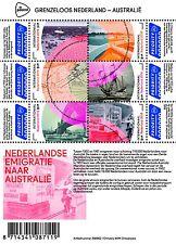 Nederland 2016 Grenzeloos Nederland-Australia vel B emigratie  pfr/mnh