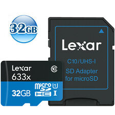 LEXAR 4K 32GB 32G micro SDHC micro SD UHS-I Class10 Flash Memory Card 95MB/s*