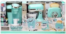 Play Perfect Kitchen Appliance Trio Playset [Green]