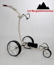 AVALON Golf Trolley mit Elektroantrieb *Edelstahl poliert *