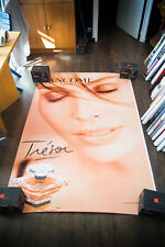 LANCOME TRESOR INES SASTRE B 4x6 ft Shelter Original Fashion Advertising Poster