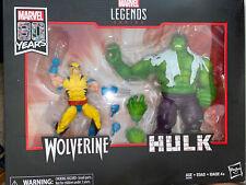 Marvel Legends 80th Anniversary Hulk vs Wolverine