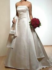 MAGGIE SOTTERO REALLY STUNNING IVORY WEDDING DRESS WITH ACCESSORIES SIZE 10