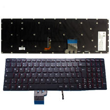 Lenovo Laptop T6B2-GE for Y50-70 Y50-80 25216001 QWERTZ GERMAN Backlit Keyboard