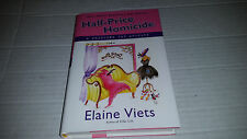 Half-Price Homicide by Elaine Viets (2010, Hardcover) FIRST PRINT