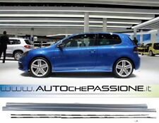 Minigonne Golf 6 versione R dal 2008>2012 ABS side skirt no GTI line