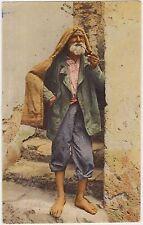 UN PESCATORE - COSTUMI NAPOLETANI (NAPOLI) 1920