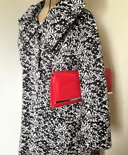 Ladies Atmosphere Floral Black and White Evening Jacket Coat Size 12