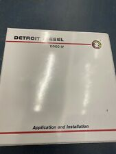 Detroit Diesel DDEC V Application And Installation Guide 7SA821 0307