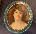 Antique Vtg E. Robinson's Sons Scranton, PA Lager Beer Tray Oval extremely rare