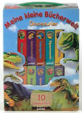 Paletti 93186 Meine kleine Bücherwelt. 12 Dinosaurier-Pappbüchlein in einer Box