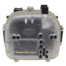 Mcoplus 40m/130ft Underwater Waterproof Housing Case for Canon EOS 550D/Rebel