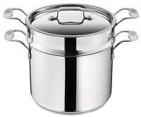 Tefal Jamie Oliver Italian Range Induction Stainless Steel Pasta Pot
