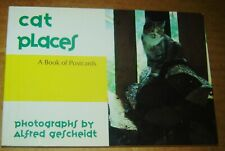 1992 Cat Places Photographs By Alfred Gescheidt Book Of 30 Oversized Postcards