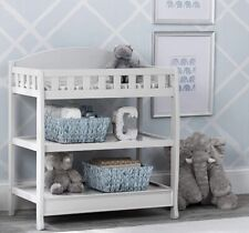 Infant Changing Table with Pad Storage Pampers Wipes