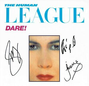 Human League Phil OAKEY Joanne Susan SIGNED Autograph 12x12 Photo D AFTAL RD COA