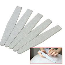 5 Buffer Lima 100/180 per Nail Art Ricostruzione Unghie Mano Piedi Kit Set wer