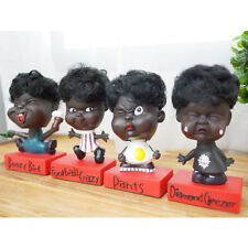 Cute Ugly Chocolate Color Doll 4Pcs Set Funny Face Kids Baby Figure Comic Toy