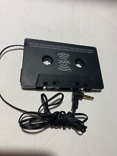 Xm Sirius Sat Cassette Car Tape Mp3 iPod Radio Aux 3.5mm Adapter As Is