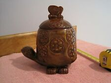 VINTAGE MCCOY TURTLE COOKIE JAR #271