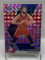 2019-20 Mosaic Nicolo Melli Pink Camo Rookie Card RC #216 Pelicans H47
