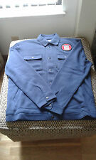 Mens Converse Jacket L ( jean jacket type jersey knit thermal lined medium weig)