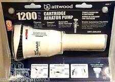 ATTWOOD TSUNAMI T-1200 GPH BOAT LIVEWELL AERATOR & BILGE PUMP, 4660-7