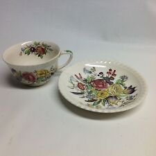 Windsor Ware Johnson Bros Garden Bouquet cup and Saucer