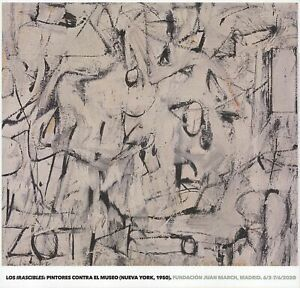 WILLEM DE KOONING Zot 26.75 x 28 Offset Lithograph 2019 Abstract Expressionist