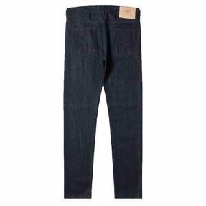 Edwin ED-80 Slim Tapered Jeans Kingston Blue Denim - Rinsed