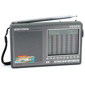 New DEGEN DE1103 DSP FM STEREO MW LW SSB SHORTWAVE RADIO RECEIVER