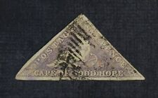 Ckstamps: Gb Stamps Collection Cape of Good Hope Scott#5 Used Tiny Tear