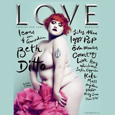 LOVE Magazine 1,Beth Ditto,Kate Moss,Amy Winehouse,Kelly Brook,Eva Mendes,Lara