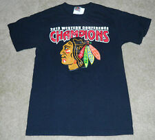 Youth CHICAGO BLACKHAWKS 2013 Western Conf. Champions/Roster S/S Shirt, S ~ MINT