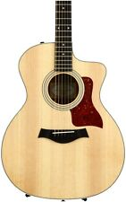 Taylor 214ce Grand Auditorium - Natural 6-string Acoustic-electric Guitar