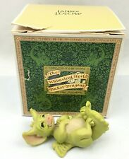 """""""Tickle"""" Whimsical World of Pocket Dragons Signed Real Musgrave 1991"""