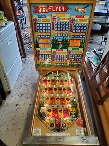 1977 Bally High Flyer Bingo Pinball Machine
