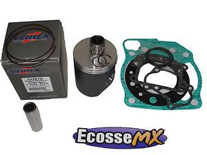 Honda CR250 1989-1991 Vertex Piston Bearing Gasket Kit 66.36 C 22153 Motocross