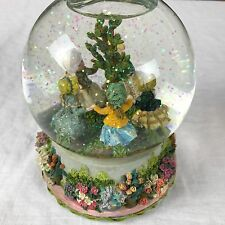 Lefton Musical Snow Globe Ring Around the Rosie April Showers Music Girls 12278