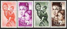 SPANISH COLONIES IFNI 1954 CHILD WELFARE INDIGENOUS WOMAN & CHILD 114 - 117 MNH