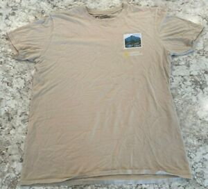 Mens National Geographic Size L Short Sleeve T-Shirt