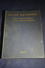 1946 *FIRST* Naval Machinery