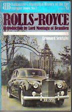 Rolls Royce Ballantines Illustrated History of the Car all models 10hp- Corniche